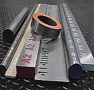 Various grades & sections of tool steels